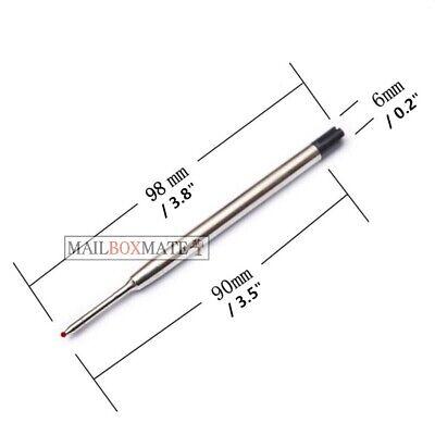 Pen Refills Parker Compatible G2 Ballpoint Pens 0.7mm Medium Black and Blue 3