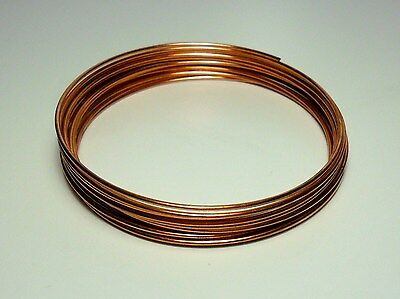 Filo Rame matassa mm 1 / 2 / 2,5 / 3 / 4 mm DIY Soft Copper wire jewels Hobby 2