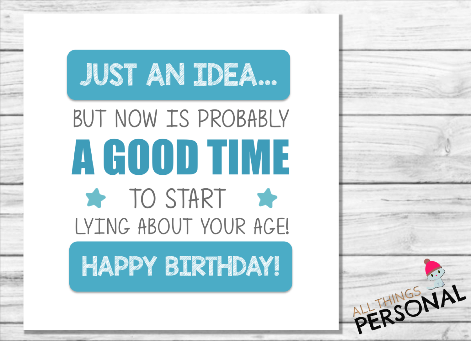 Greeting Cards Funny Happy Birthday Card Perfect For Men Or Women Blank Inside To Add Your Own Personal Greeting Rude Age Joke Perfect For Mum Dad 40th 50th 60th 70th