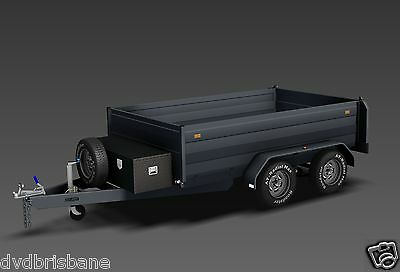 Trailer Plans - 3400kg HYDRAULIC TIPPING TRAILER PLANS -PLANS ON USB Flash Drive 4