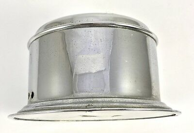 Celeste Yacht Alarm mechanical bulk head clock in chrome finish 3