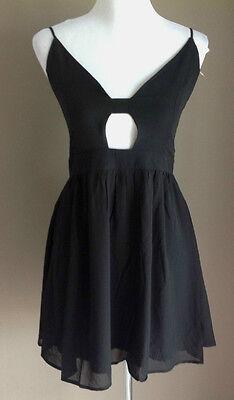 Bulk Lot x 7 NEW Dresses Black Chiffon Lace Up Back Sizes 6 - 12 Styla Label 2
