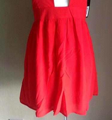 Bulk Lot x 7 NEW Dresses Red Chiffon Lace Up Back Sizes 6 - 12 Styla Label 4
