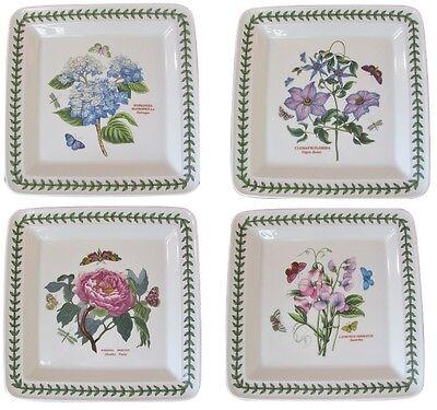 PORTMEIRION BOTANIC Garden 12 Piece Square Dinner Set (Service for ...