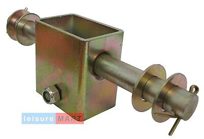 Trailer Single Side Roller Brackets and 2 Rollers Dumbbell Style Pair LMX1478 2