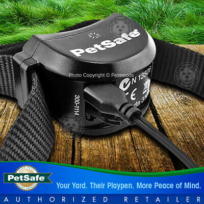 PetSafe Stay and Play Rechargeable Wireless Receiver Dog Collar Lime Green Strap 6