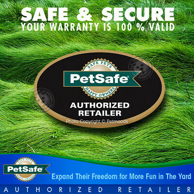 PetSafe Stay and Play Rechargeable Wireless Receiver Dog Collar Lime Green Strap 10