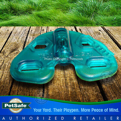 PetSafe Stay and Play Rechargeable Wireless Receiver Dog Collar Lime Green Strap 8