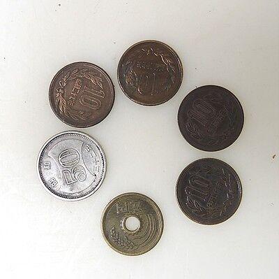 Aus Nachlass 5 X Amulett Loch Münze Bronze China Oder Japan Eur 24
