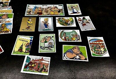 Stickers Panini Asterix Carrefour 2019 Lot de 10 cartes au choix Autocollant 60a 5