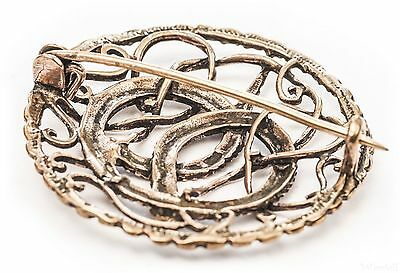 Sammeln & Seltenes Clever Gr Anhänger & Amulette 4 Elemente Gewandspange Bronze Kelten Mittelalter Scheibenfibel Kelten Fibel
