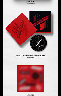 US SHIPPING Ateez-[Treasure EP.2:Zero To One]2nd Mini CD+Poster/On+Book+Card+etc 10
