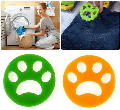 Reusable Pet Hair Remover Brush, Cat Lint Dog Fur for Laundry Washing Machine 2