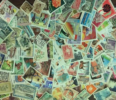 [Lot A] 100 Different Worldwide Stamp Collection - At least 50% Commemoratives! 2