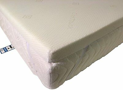 Carousel Care Orthopaedic Memory Foam Mattress Topper | 2 Way Stretch Cool Cover 8