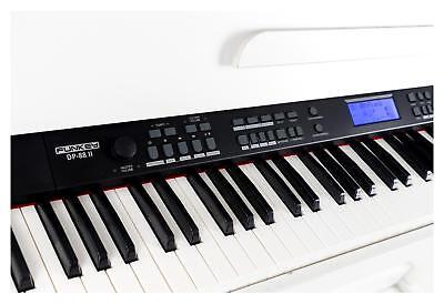 88-Tasten Digital E-Piano Beginner Home Keyboard Klavier 3-Pedale USB Weiß 5