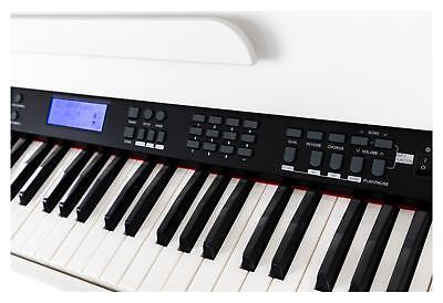88-Tasten Digital E-Piano Beginner Home Keyboard Klavier 3-Pedale USB Weiß 6