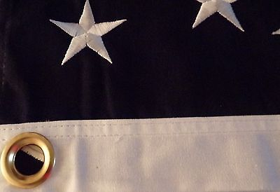 HEAVY COTTON 34 STAR AMERICAN FLAG  embroidered & sewn - HISTORICAL USA 6