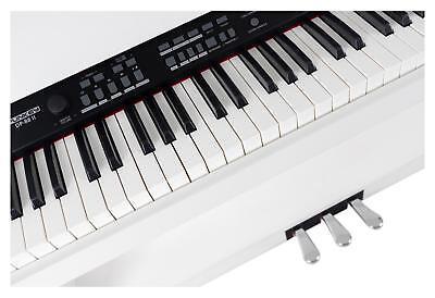 88-Tasten Digital E-Piano Beginner Home Keyboard Klavier 3-Pedale USB Weiß 8