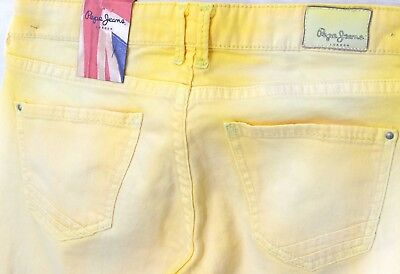 467cf1b676a ... PEPE JEANS JUNIOR jeans jaune used Junior Fille EMERY YELLOW 16 ANS 3
