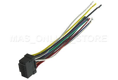 ALPINE CDE-175BT CDE175BT GENUINE WIRE HARNESS /& Microphone A1