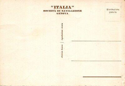 4134) Napoli, Soc. Di Navigazione Italia, Genova.