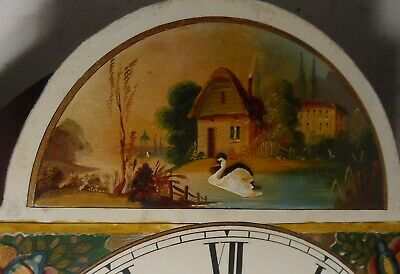 "Antique ""  Automation  Swan  ""  Exeter  Grandfather / Longcase Clock 4"