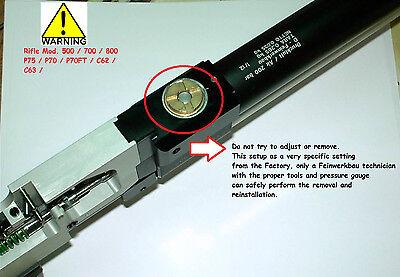 800X Feinwerkbau Mod Service kit 800ALU Compressed Air rifle Seals