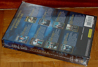 Harry Potter La Coleccion Completa 8 Dvd Precintado Nuevo Fantasia (Sin Abrir) 4