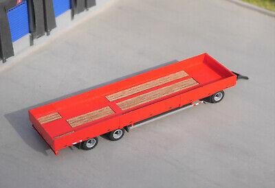 1:87 EM119 3achs Anhänger mit Bordwänden flach für Herpa Umbau Eigenbau 5