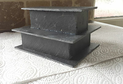 Breeding slate cave for bristlenose, pleco L numbers, fish x 1 3