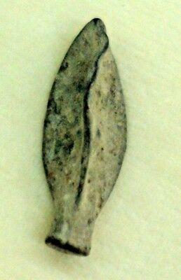 ANTIQUE ROMAN ARROW HEAD FOUND IN THE HOLYLAND ISRAEL 1st CENTURY A.C.