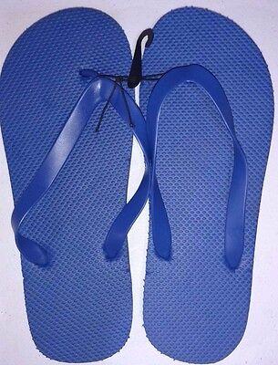 New Men's Unisex Flip Flops/Shower Shoes Blue, Orange, Black,Red,Lime Green,Grey 2