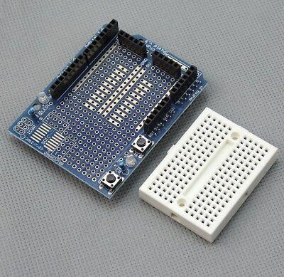 Prototyping Prototype Shield ProtoShield Mini Breadboard Arduino Uno Mega Due UK 2