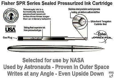 Fisher Space Pen # 400BCL / Classic Matte Black Bullet Pen with Clip 7