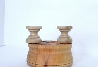Wood Finials For Ansonia Triumph, F Kroeber Occidental Clock, 6 pieces 10