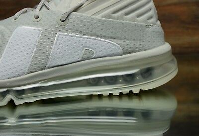 NIKE AIR MAX Flair Light Bone White 942236 005 Men's Running Shoes Size 10, 10.5
