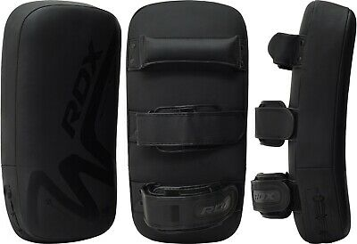 RDX Muay Thai Pads Curved Kickboxing MMA Martial Arts Boxing Punch Strike Shield 7