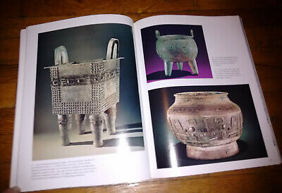 """TREASURES FROM THE BRONZE AGE OF CHINA"" Huge Exhibition Catalog. Many Photos! 6"