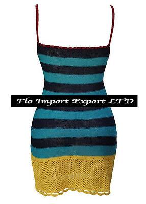 Vestito Donna Mini Copricostume - Woman Crochet Mini Dress Cover up 110164 5 • EUR 29,90