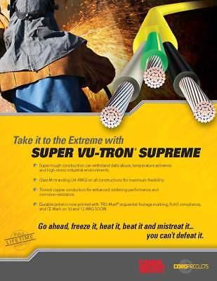 Carol 02635 16/3C Super Vu-Tron Supreme Yellow SOOW 600V Power Cable Cord /50ft 11