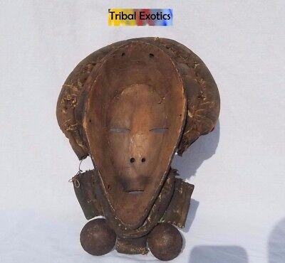 EXTRAVAGANT Dan Gioh Ceremonial Mask Figure Sculpture Statue Fine African Art 7
