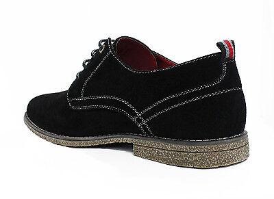 2 di 3 Scarpe Francesine Uomo Diamond Nero Scamosciate Casual Shoes 40 41  42 43 44 45 d04120fb8e6