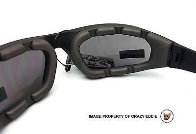 b93080499eef ... Global Vision Kickback Foam Padded Riding Glasses Sunglasses Motorcycle  Biker 4