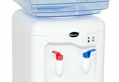 Dispensador De Agua Enfriador  Agua Fria Del Tiempo 7L Litros 65W 2 Grifos 7