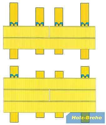 unsichtbare Befestigung Lärche Fassade Rhombus Profile Halter Pan-Clip PC 6570