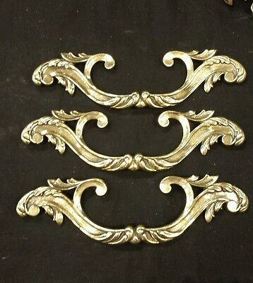 Vintage Victorian  decorative brass Drawer handle pulls (up to 3 available) 2
