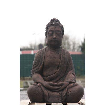 verziert aus STEINGUSS STEINFIGUR für GARTEN KOI TEICH NEU 4061 BUDDHA sitzend