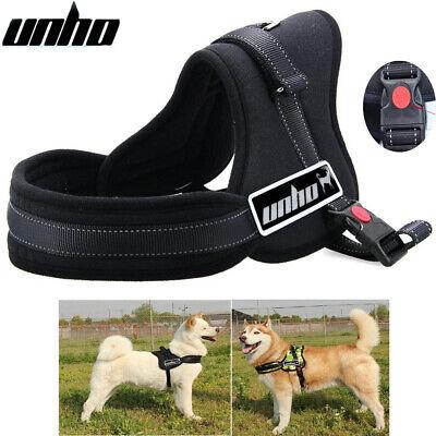 Control Large Dog Pulling Harness Adjustable Support Comfy Pet Pitbull Training 8