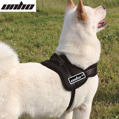 Control Large Dog Pulling Harness Adjustable Support Comfy Pet Pitbull Training 4